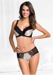 Reggiseno minimizer, bpc selection, Nero / color nudo