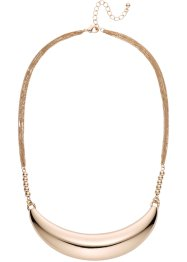 Collier a mezzaluna, bpc bonprix collection, Color oro