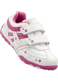 Sneaker, bpc bonprix collection, Bianco / fucsia