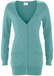 Cardigan, bpc bonprix collection, Blu minerale