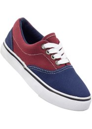 Sneaker, bpc bonprix collection, Rosso scuro / blu scuro