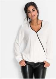 Blusa incrociata, BODYFLIRT
