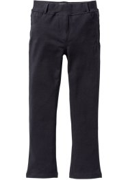Pantalone elasticizzato bootcut, bpc bonprix collection, Nero