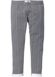 Pantalone elasticizzato fantasia, bpc bonprix collection