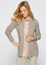 Cardigan, bpc selection, Beige / rosa cipria