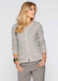 Cardigan, bpc selection, Marroncino / beige