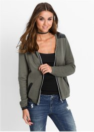 Cardigan in stile biker, RAINBOW