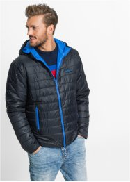 Giacca double face regular fit, RAINBOW, Nero / bluette