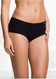 Panty alto (pacco da 4) in cotone biologico, bpc bonprix collection