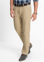 Pantalone chino regular fit, bpc bonprix collection, Beige