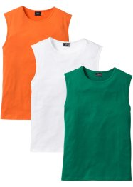 Canotta (pacco da 3) regular fit, bpc bonprix collection