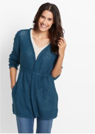 Cardigan leggero, bpc bonprix collection, Petrolio scuro