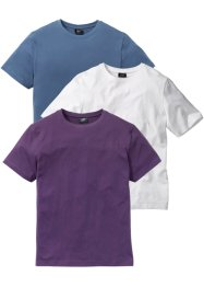 T-shirt (pacco da 3) regular fit, bpc bonprix collection