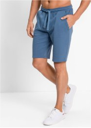 Pantaloncino in felpa regular fit, bpc bonprix collection, Blu jeans