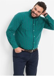 Camicia a quadri a manica lunga regular fit, bpc bonprix collection