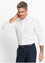 Camicia elasticizzata slim fit, bpc selection, Turchese