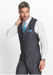 Gilet regular fit, bpc selection, Grigio melange