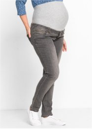 Jeans prémaman skinny, bpc bonprix collection, Grigio denim
