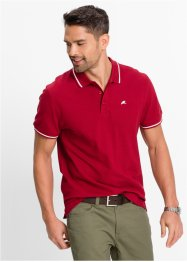Polo regular fit, bpc bonprix collection, Rosso
