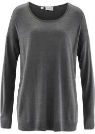 Pullover, bpc bonprix collection, Grigio melange
