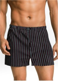 Boxer largo ( pacco da 3), bpc bonprix collection, Nero fantasia