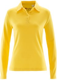Polo a manica lunga, bpc bonprix collection, Giallo