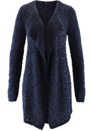 Cardigan lungo, bpc bonprix collection, Blu scuro