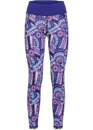 Leggings funzionale 7/8, bpc bonprix collection, Zaffiro fantasia