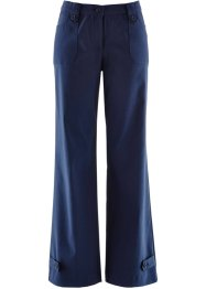 Pantalone elasticizzato in bengalin, bpc bonprix collection, Blu scuro
