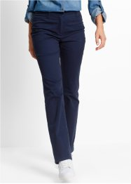 Pantaloni elasticizzati modellanti, bpc bonprix collection, Blu scuro