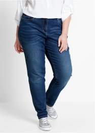 Jeans elasticizzato boyfriend, bpc bonprix collection, Dark denim