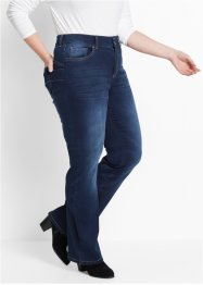 Jeans push-up bootcut, bpc bonprix collection, Dark denim