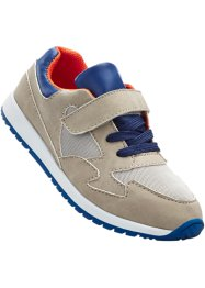 Sneaker, bpc bonprix collection, Grigio / arancione / blu scuro