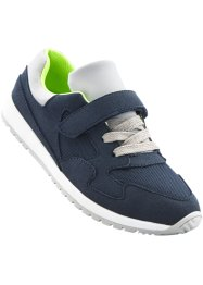Sneaker, bpc bonprix collection, Blu scuro / verde prato / grigio