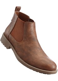 Stivaletto Chelsea, bpc bonprix collection, Cognac