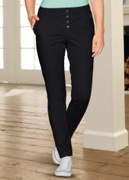 Pantaloni elasticizzati, bpc bonprix collection, Ardesia