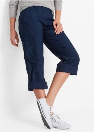 Pantaloni cargo, bpc bonprix collection, Blu scuro