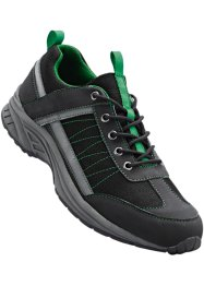 Sneaker, bpc bonprix collection, Grogio scuro / verde