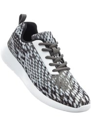 Sneaker, bpc bonprix collection, Nero / bianco
