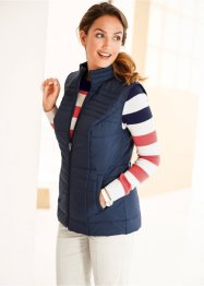 Gilet trapuntato, bpc bonprix collection, Blu scuro