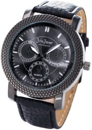 Orologio da uomo, bpc bonprix collection, Nero