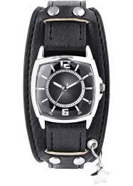 Orologio con ciondolo, bpc bonprix collection, Nero