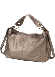 "Borsa a tracolla ""Washed metallic"", bpc bonprix collection, Marroncino metalizzato"