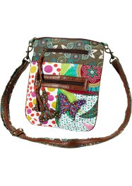 "Borsa ""Mayla"", bpc bonprix collection, Verde scuro / multicolore"