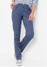 Pantaloni chino elasticizzati, bpc bonprix collection, Indaco