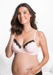 Reggiseno per l'allattamento, bpc bonprix collection, Rosa / nero