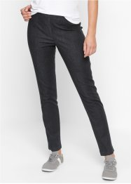 "Leggings in jeans ""Stretto"", bpc bonprix collection, Nero stone"