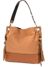 Borsa shopper con nappine, bpc bonprix collection