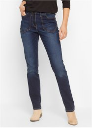 "Jeans elasticizzato ""alto"", bpc bonprix collection, Dark denim"