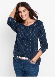 Maglia, bpc bonprix collection, Blu scuro fantasia